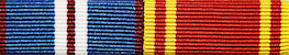 Golden Jubilee and Long Service Ribbon