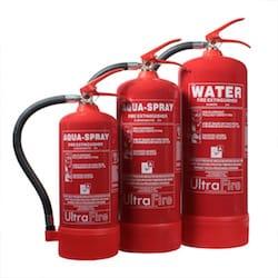 Water Extinguishers