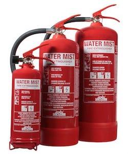 Water Mist Extinguishers