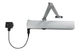 Free-Swing Door Closer powered by Alarm Panel (Geze TS4000EFS)