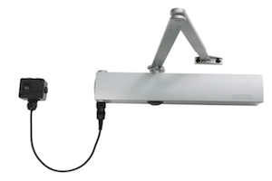 Free-Swing Door Closer powered by Alarm Panel (Geze TS4000EFS)